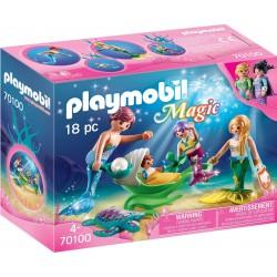 Playmobil 70100 Familia con...