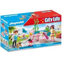 Playmobil 70593 Cafetería