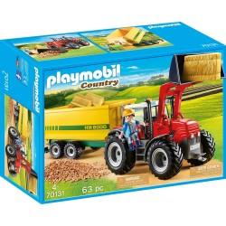 Playmobil 70131 Tractor con...