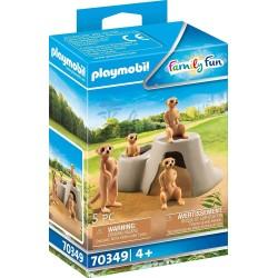 Playmobil 70349 Suricatas