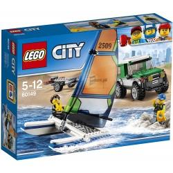 LEGO 60149 4x4 con catamarán