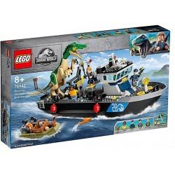 LEGO 76942 Fuga del Barco...