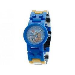 Reloj con Minifiguras de C-3PO™ y R2-D2™ LEGO® Star Wars™