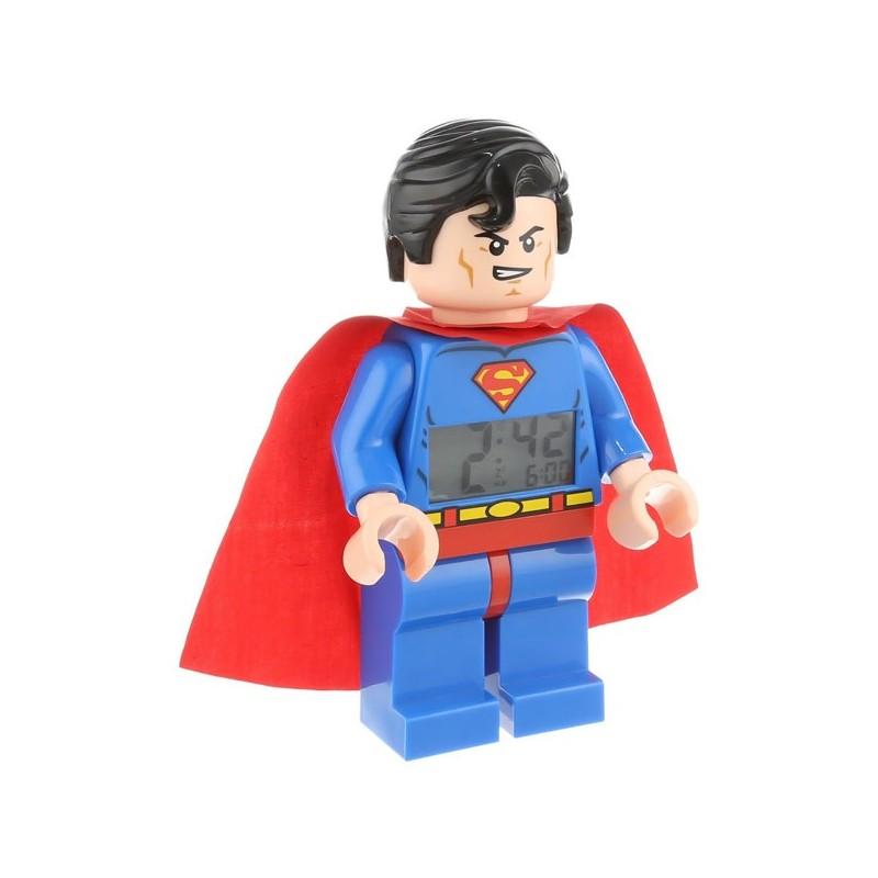 Minifigura de Superman™ con reloj LEGO® DC Universe™ Super Heroes