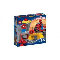 El Taller de la Moto Araña de Spider-Man