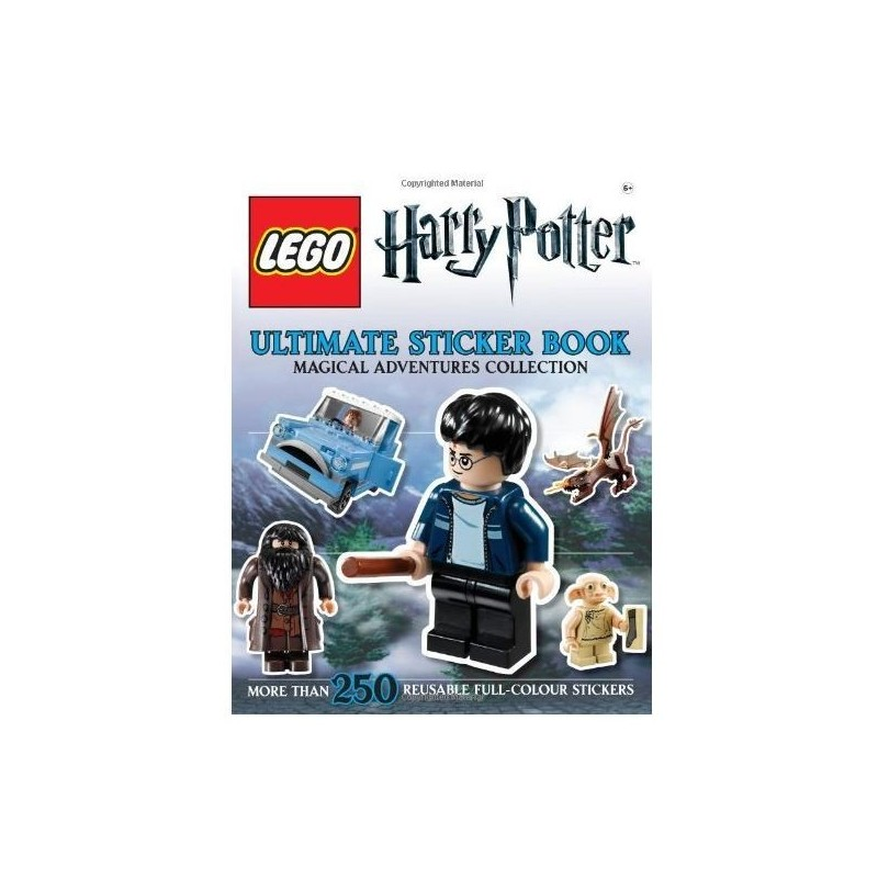 Harry Potter Magical Adventures Sticker Book