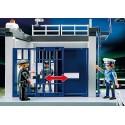 Comisaría de Policía con Sistema de Alarma