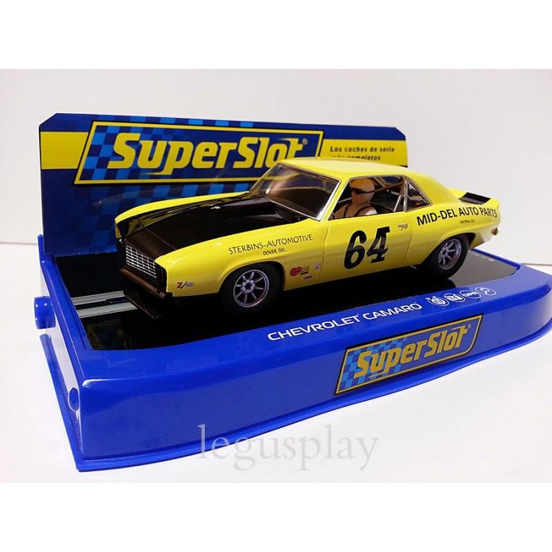 SuperSlot H3724 Chevrolet Camaro 1969 Rolex Monterrey Nº64