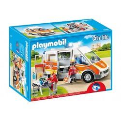 Ambulancia con Luces y Sonido