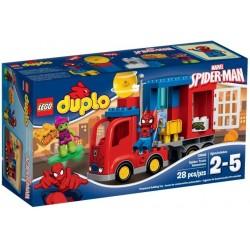 La Aventura en el Camión Araña de Spider-Man