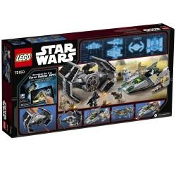 TIE Advanced de Vader vs. A-Wing Starfighter