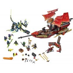 El Vuelo Final del Barco de Asalto Ninja
