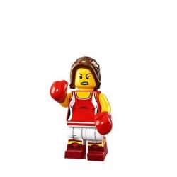 Luchadora de kickboxing