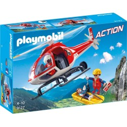Helicoptero de Rescate de Montaña