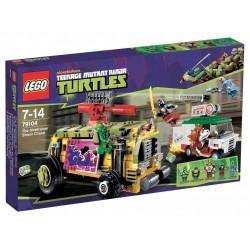 Tortugas Ninja - Persecución en el Furgón Blindado