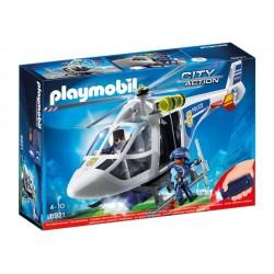 Helicóptero de Policía con Luces LED