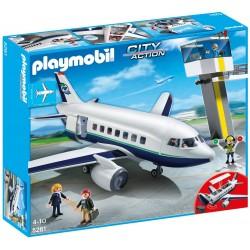 Avión de Pasajeros y Mercancías