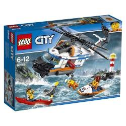 Gran helicóptero de rescate