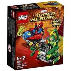 Mighty Micros: Spider-Man vs. Escorpión