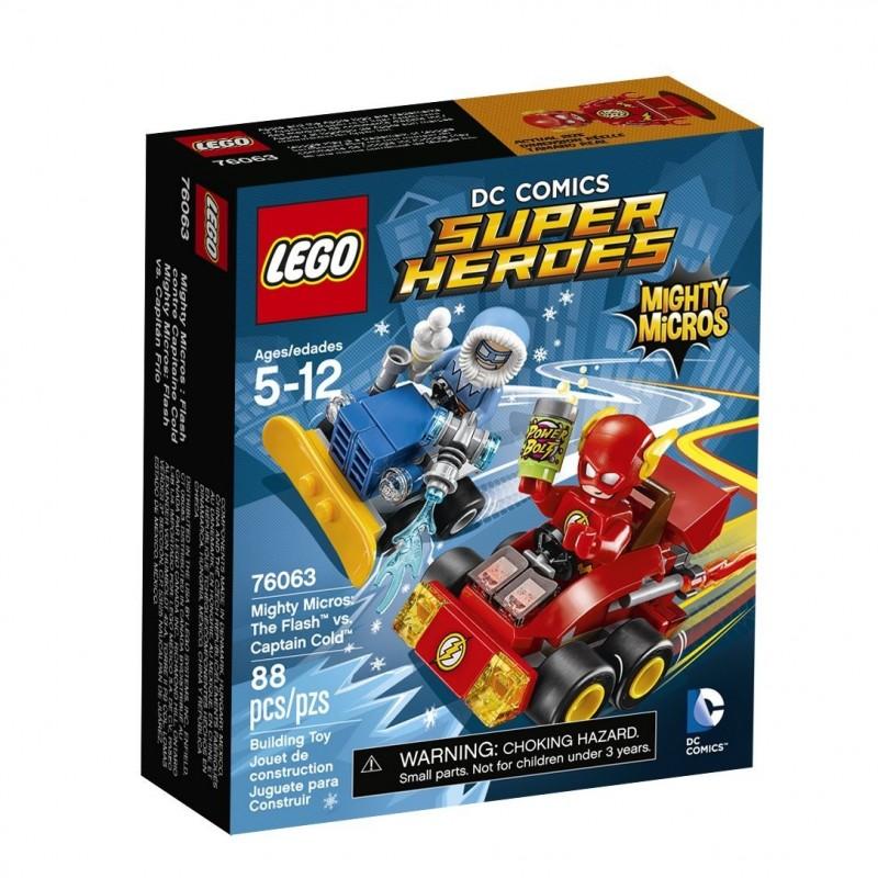 Mighty Micros: Flash vs. Capitán Frío