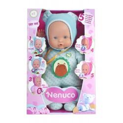 Nenuco 700012664 Blandito 5 Funciones - Ropita Azul