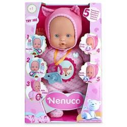 Nenuco 700012664 Blandito 5 Funciones - Ropita Rosa