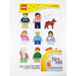 Lego 850794 Pegatinas Familiares