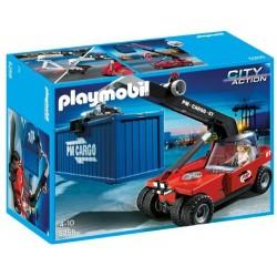 Playmobil 5256 Transportador de Contenedores