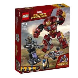 Lego 76104 Incursión demoledora del Hulkbuster