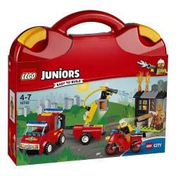 Lego 10740 Maletín de patrulla de bomberos
