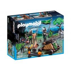 Playmobil 6041 Caballeros del Lobo con Catapulta