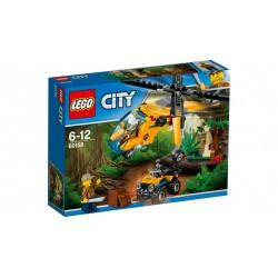 Lego 60158 Jungla: Helicóptero de transporte