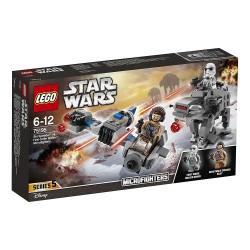 Lego 75195 Microfighters: Speeder Esquiador vs. Caminante de la Primera Orden