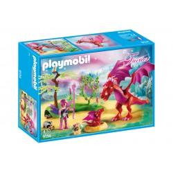 Playmobil 9134 Dragón con Bebé