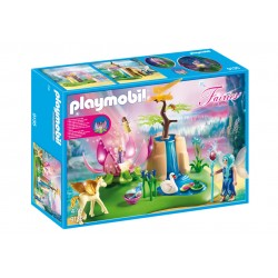 Playmobil 9135 Lago con Hadas Bebé