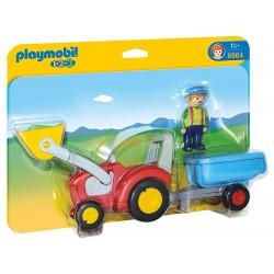 Playmobil 6964 Tractor con Remolque