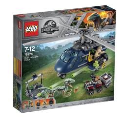 Lego 75928 Persecución en helicóptero de Blue