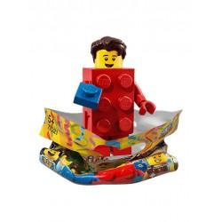 Chico con Disfraz de Brick LEGO