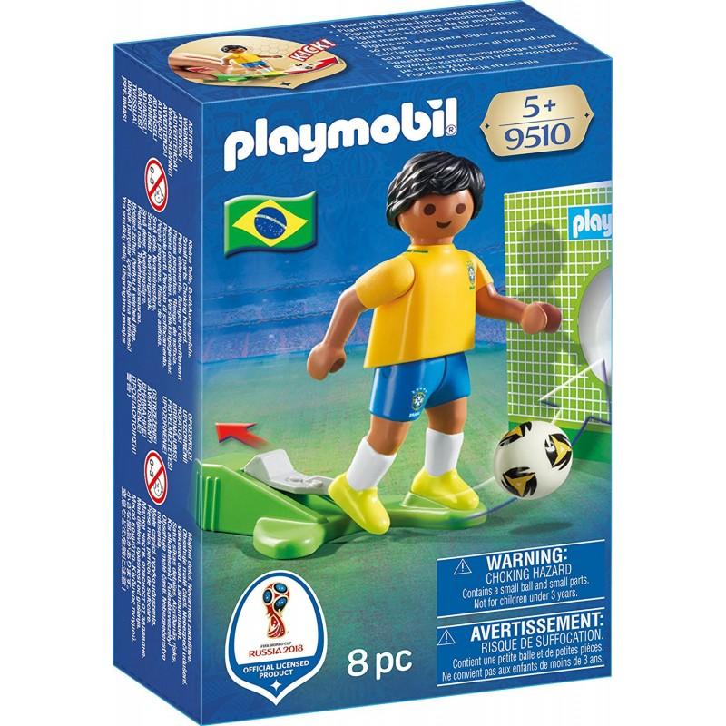 Playmobil 9510 Jugador de Fútbol - Brasil