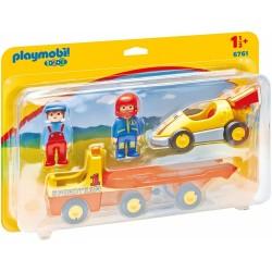 Playmobil 6761 Coche de Carreras con Transportador