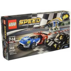 Lego 75881 Ford GT de 2016 y Ford GT40 de 1966
