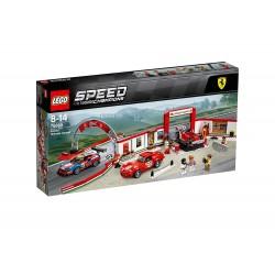 Lego 75889 Taller definitivo de Ferrari