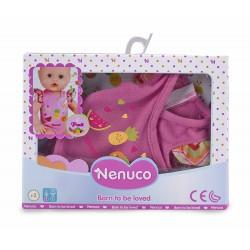 Nenuco 700013433 Body Con Dibujo de Frutitas, color rosa