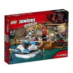 Lego 10755 Persecución en la lancha ninja de Zane