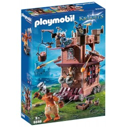 Playmobil 9340 Torre de Asalto de los enanos con Troll