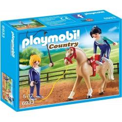 Playmobil 6933 Entrenador de Caballos