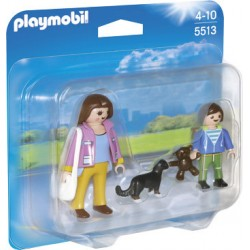 Playmobil 5513 Duo Pack - Madre con niño