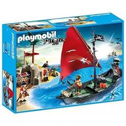 Playmobil 5646 Barco pirata e isla del tesoro