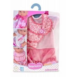 Nenuco 700012823 Mono Rosa con Babero