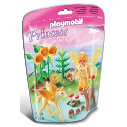 Playmobil 5353 Figura de otoño con bebé pegaso